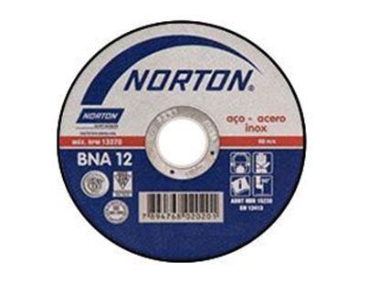Imagem de DISCO DE CORTE 115 X 1,0 X 22,2MM INOX - BNA12 - A60T-BF41